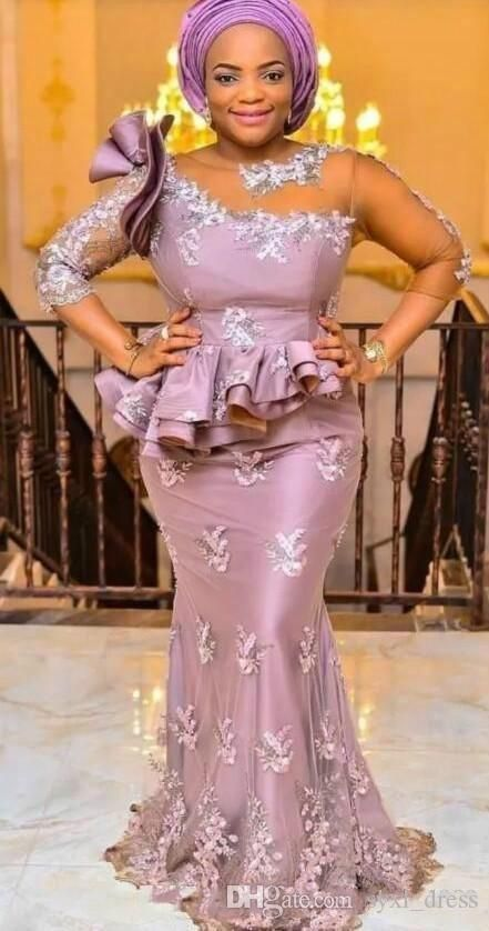 3093a2bca9c1e 2018 Dubai Arabic Aso Ebi Black Girls Elegant Evening Formal Dresses ...