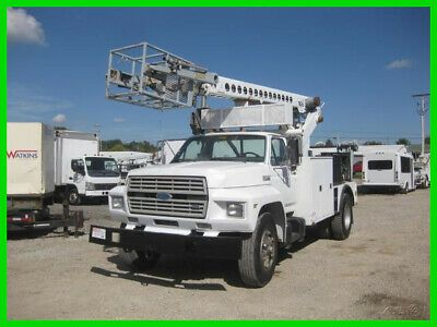 Ad Ebay Link 1990 Ford F700 6 6 Diesel 5 2 With Telsta T40c Cable Cable Placer Used Telsta In 2020 Diesel Vehicle Shipping Ford