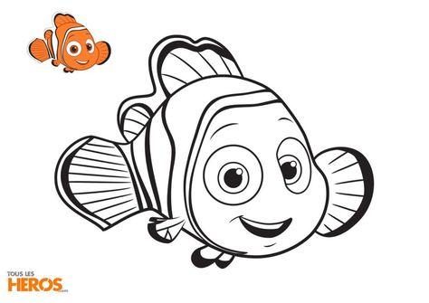 Coloriage Nemo.Coloriage Nemo A La Recherche De Son Pere Sous L Ocean Card Disney