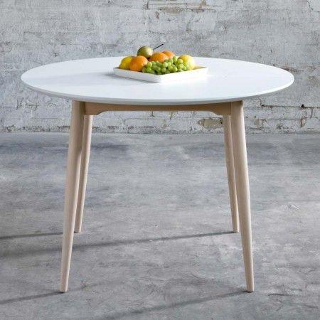 Table Ronde Avec Rallonge Design Danois Pinteres - Table ronde extensible 12 personnes pour idees de deco de cuisine