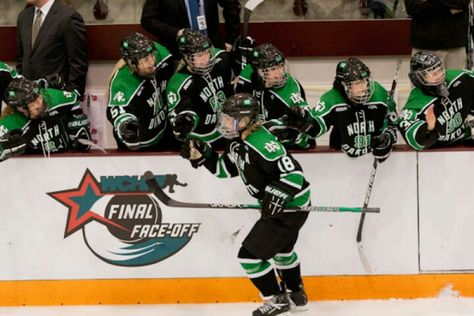 Und Hockey Scoring From Defense Corps Tops In Conference  Http