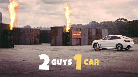 Our New 2 Guys 1 Car Video Is Live Watch Alex And Ethan Battle It Out In The Official Shell V Power Nitro Driving Challenge With Images Car Guys Car Car Videos