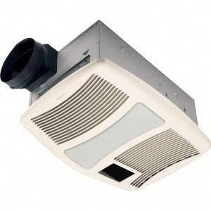 Broan Nutone Qt Series Very Quiet 110 Cfm Ceiling Bathroom Exhaust Fan With Heater Light And Night Light Qtxn110hflt The Home Depot Bath Fan Bathroom Fan Exhaust Fan