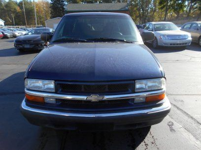 Used 2002 Chevrolet S10 Pickup 4x4 Crew Cab Ls Trucks For Sale