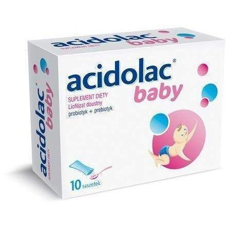ACIDOLAC Baby x 10 SACHETS for infants restores the normal