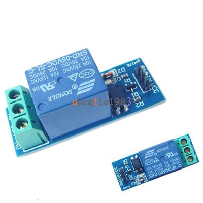 Details About 5v 10a One 1 Channel Relay Module With Optocoupler
