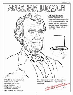 Abraham Lincoln Coloring Pages Printable Awesome 104 Best Lincoln Party Images In 2020 Coloring Pages Animal Coloring Pages Abraham Lincoln