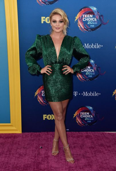 Olivia Holt attends FOX's Teen Choice Awards.