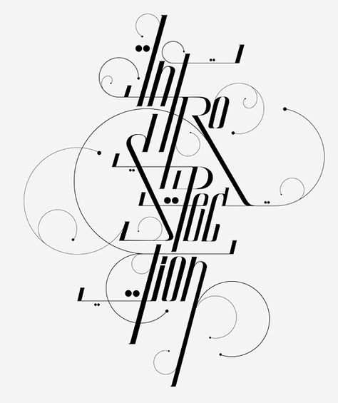 40 Remarkable Examples Of Typography Design #5 - Inspirationfeed
