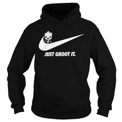 on feet images of big discount big discount Groot Nike T Shirt Hoodie sweatshirt | Groot | Hoodies ...