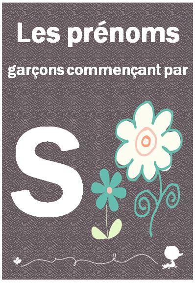 Prenom Bebe Garcon Commencant Par S Baby Note Prenom Garcon Prenom Bebe Garcon Prenom