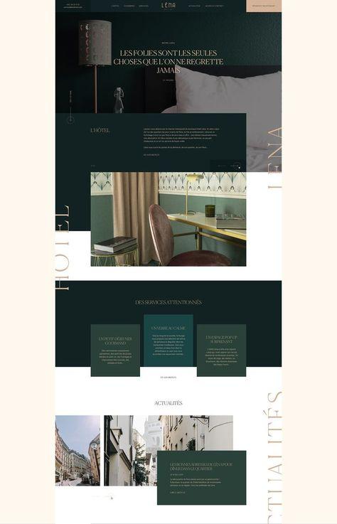 Interior design and furniture store website