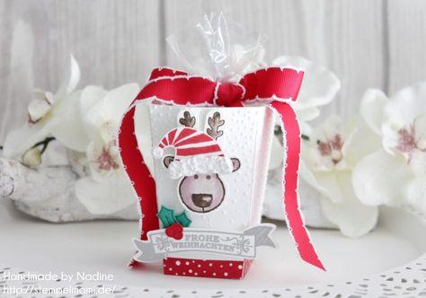 stampin up popcorn schachtel goodie box give away verpackung sch geschenke