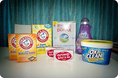 DIY Laundry detergent...