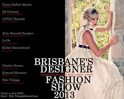 November 2nd is my big fashion showcase event in 2013, come along for a red carpet style event and have bubbly with me