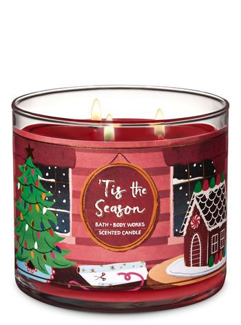 Tis The Season 3 Wick Candle Bath And Body Works Candles