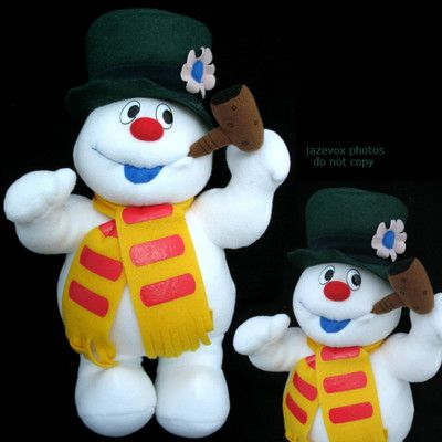 New Christmas Winter Frosty The Snowman Singing Song Musical Plush Stuffed Doll $1 SORRY this ITEM is SOLD ... we sell more Christmas or Holiday Home Decors at   http://stores.ebay.com/Tropical-FEEL