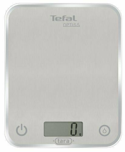 Tefal Bc5004optiss Glass Balance De Cuisine Electronique Silver