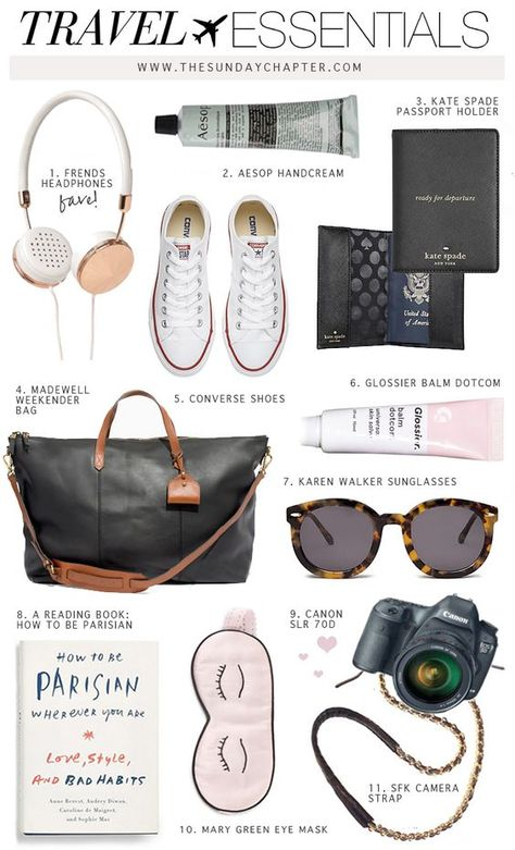 Must-Have Travel Essentials To Have On Any Flight!