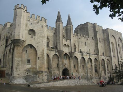 Palais des Papes, Avignon, France. Oooh, I bet this is amazing.