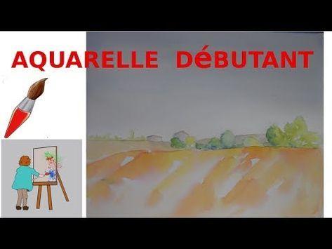 Youtube Aquarelle Peinture Debutant Portrait De Silhouette
