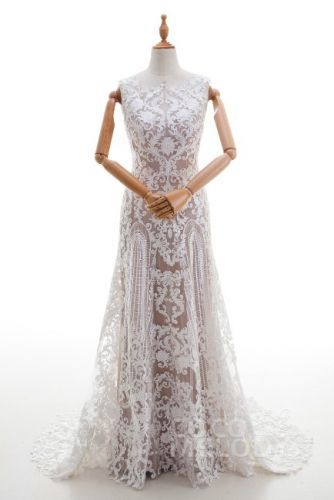 Cocomelody Ld4317 Gothic Sheath Online Wedding Dress Wedding Dresses Gothic Wedding Dress