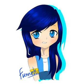 Itsfunneh Explore Itsfunneh On Deviantart Fan Art Drawing Cute Youtubers Pusheen Coloring Pages