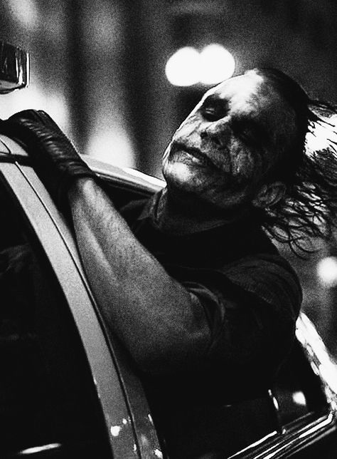 """""""Introduce a little anarchy. Upset the established order, and everything becomes chaos."""" - The Dark Knight"""