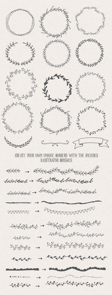 Handsketched Designer's Branding Kit by Nicky Laatz at CreativeMarket