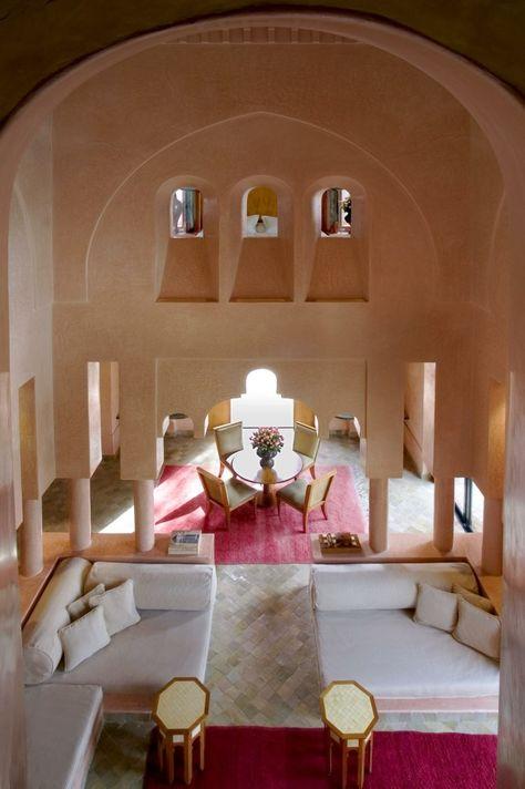 Intérieur Moderne De Décoration Marocaine
