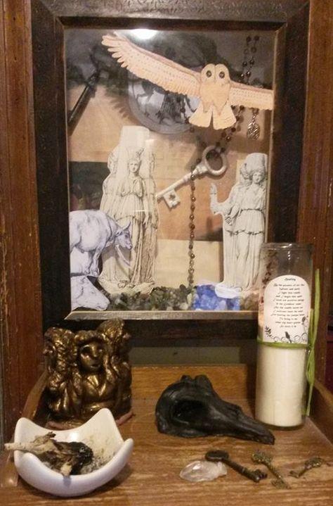 Hecate Threshold Altar