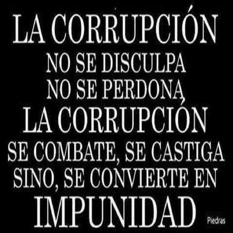 9 ideas de Corrupción. política | citas políticas, frases irónicas, frases  sabias