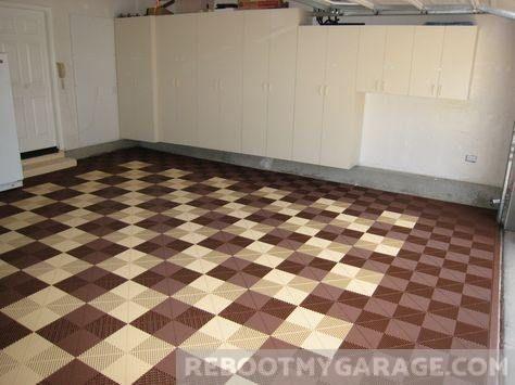 109 Amazing Garage Floor Tile Designs Tile Floor Garage Floor