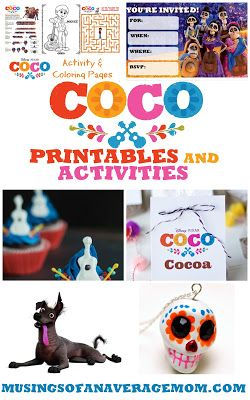 Coco Printables and Activities | Party Ideas | Coco party