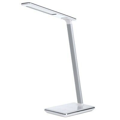 Details About Fold Eye Protection Led Desk Lamp Qi Wireless Charge Qi Enabled Smart Devices Led Desk Lamp Desk Lamp Touch Lamp