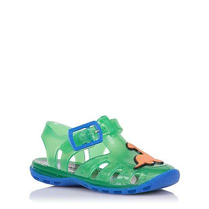 First Walkers Dinosaur Jelly Sandals