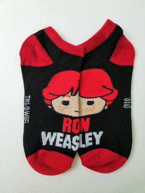 Harry Potter Ron Weasley Ankle Socks