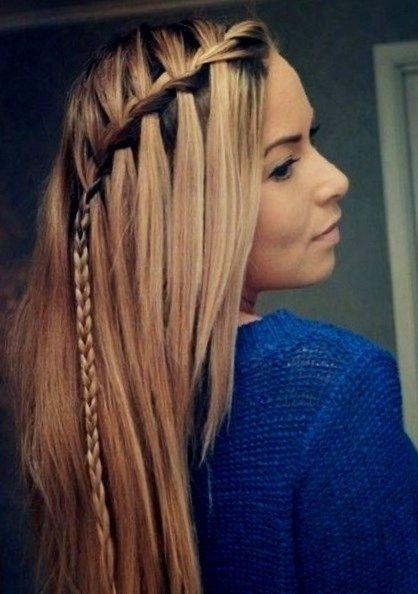 Peinados Sencillos Para Deslumbrar En La Escuela 15 A 20 Peinados Para La Escuela Con El Straight Hairstyles Long Hair Styles Easy Hairstyles For Long Hair