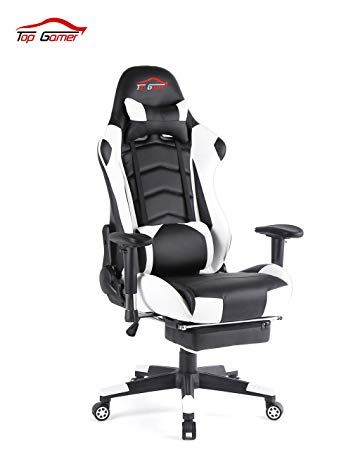 Pc Gaming Chair With Footrest Https Www Otoseriilan Com Pc Gaming Chair Video Games Pc Gaming Computer