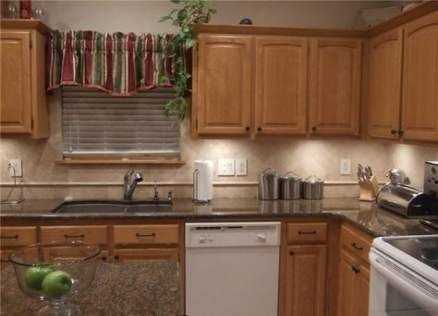 Trendy Kitchen Backsplash Ideas Oak Cupboards Ideas Trendy