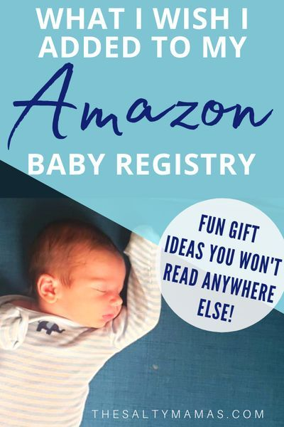 Must Have Postpartum Products For Your Baby Registry The Salty Mamas Amazon Baby Registry Baby Registry Baby Gift Registry