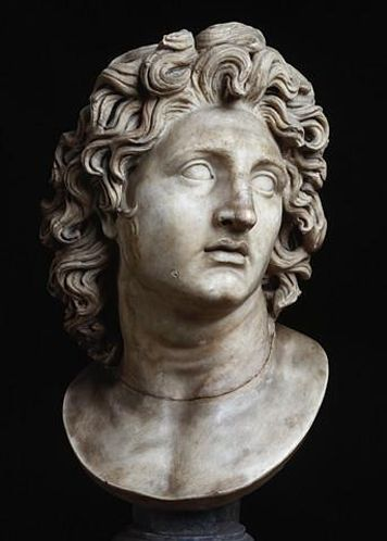 Image result for lysippos bust of ALexander