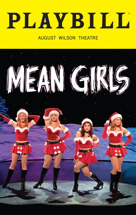 Special Limited Edition December 2019 Edition Playbill from the Broadway Musica, Mean Girls. Available exclusively to Mean Girls audience members in the theatre and at the Playbill Store. This special Mean Girls the Musical Playbill is. Broadway Musicals, Musical Theatre Broadway, Theatre Shows, Broadway Plays, Theatre Nerds, Broadway Shows, August Wilson, Studios, Indie