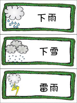 Chinese Month Week And Weather月份 星期 天气 句型练习组图 Chinese Lessons Mandarin Chinese Learning Chinese Language Learning