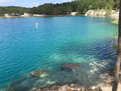 Huntsville's Blue Lagoon, scuba site, among Houston area's top summer swim spots - San Antonio Express-News Houston, Cool Places To Visit, Places To Travel, Huntsville Texas, Scuba Certification, Vacation Spots, Cruise Vacation, Disney Cruise, Vacation Destinations