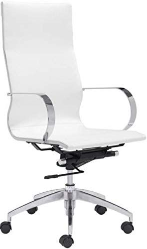 Loberget Blyskar Swivel Chair White Ikea In 2020 Swivel Chair Micke Desk Ikea