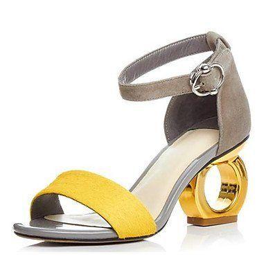 prix compétitif 1251f 992b8 LvYuan-ggx Femme Chaussures à Talons Escarpin Basique Cuir ...
