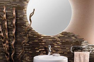 Piastrelle bagno moderno mosaico nuovo piastrelle bagno mosaico