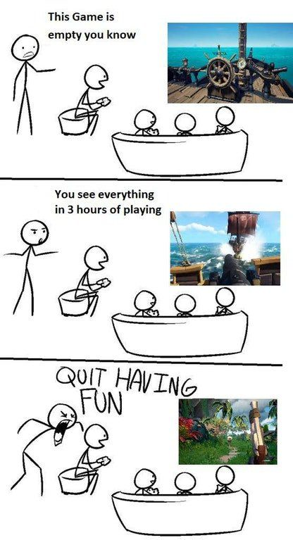 Get That Negative Bs Out Of Your Life Have Fun Sea Of Thieves