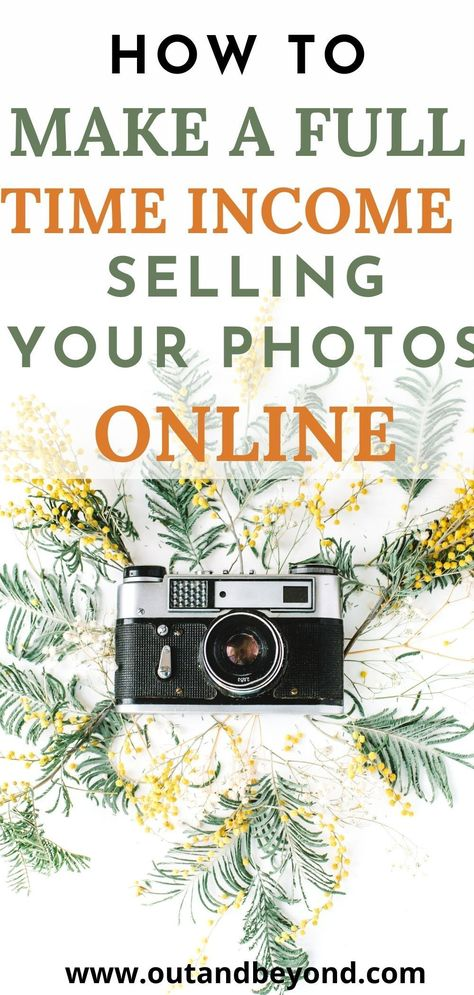 BEST WEBSITES TO SELL YOUR PHOTOGRAPHY ONLINE AND MAKE MONEY